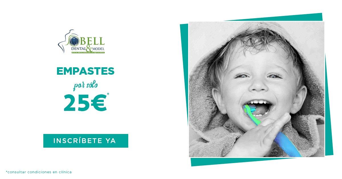 Empastes dentales por solo 25€
